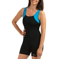 Dolfin Aquashape Women's Color Block Aquatard Swimsuit in Multiple Colors and Sizes