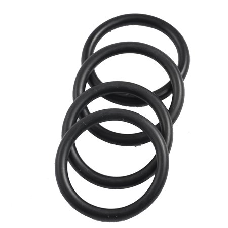 Unique Bargains Boiler Black 32mm x 3 5mm Rubber Sealing