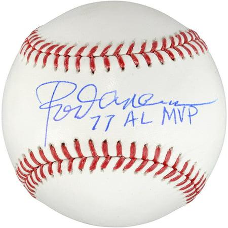 Rod Carew Minnesota Twins Autographed Baseball with