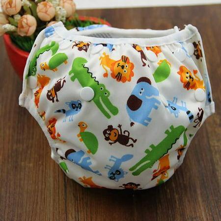 KABOER 1 PCS  Baby Swim Diaper for Swim Lesson, Reusable Washable Adjustable Swim Underwear, Best Baby Shower Swim