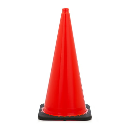 Traffic Cone with 10 lbs Plain Finish, 28