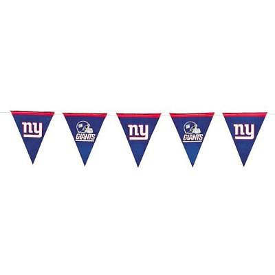 IN-13740465 NFL New York Giants? Paper Pennant Banner  By Fun Express