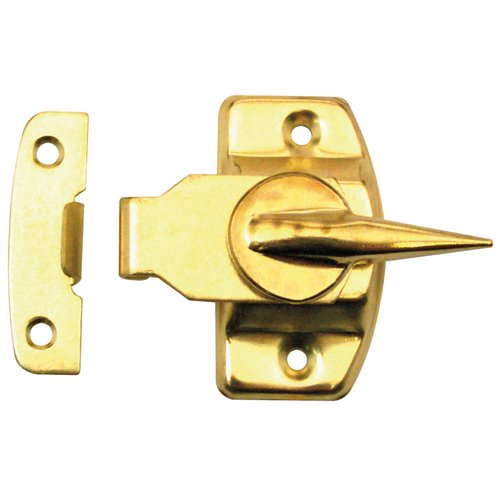 Prime Line F2527 Brass Window Sash Lock