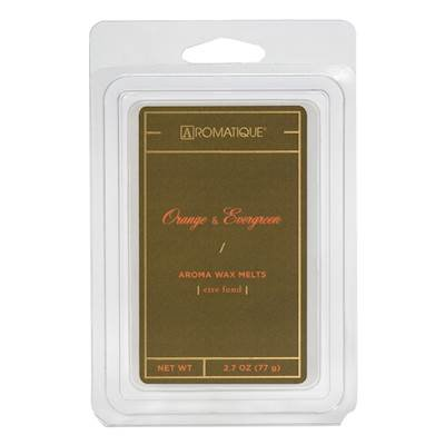 Orange Wax - ORANGE EVERGREEN WAX MELT by Aromatique