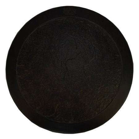 Image of 22? Antique Bronze Round Heavy Duty Lazy Susan and Fire Pit Table Cover