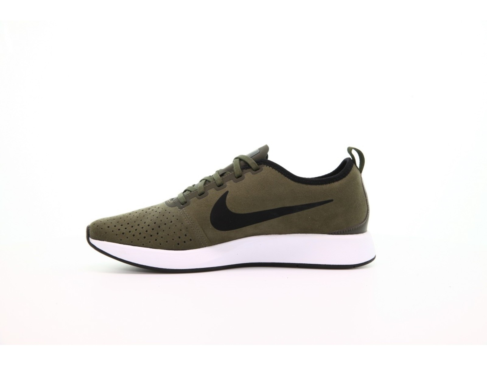 92a15826d34a Nike Mens Dualtone Racer PRM Leather Low Top Lace Up Running