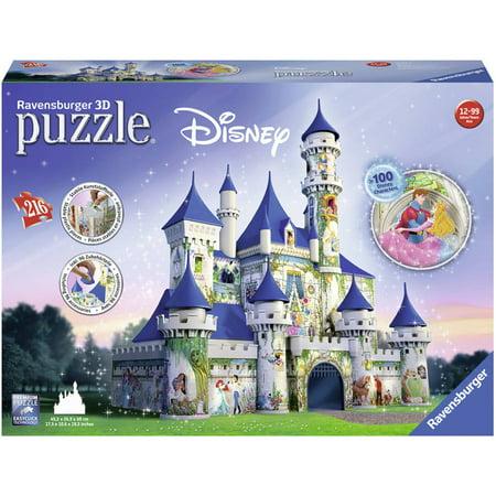 Ravensburger Disney Castle 3D Puzzle: 216 Pcs