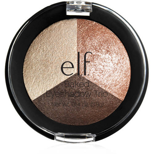 e.l.f. Baked Eyeshadow Trio, Peach Please, 0.14 oz