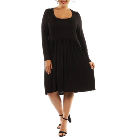 Women's Plus Midi Must Have Dress for Fall