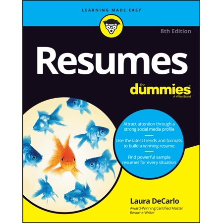 Resumes for Dummies (Gallery Of Best Resumes)