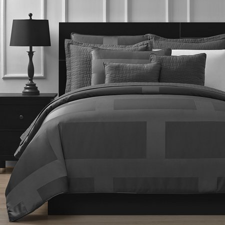 Collection 8 Piece Set - Staniey Collection Frame Jacquard 8-piece Comforter Set