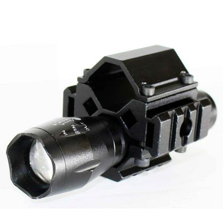 Tactical Flashlights Shotguns (250ft 1200 Lumens LED Tactical Flashlight Weaver Mounted For Shotgun accessories)