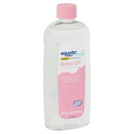 Hypoallergenic Baby Oil - Equate Baby Hypoallergenic Baby Oil, 20 fl oz
