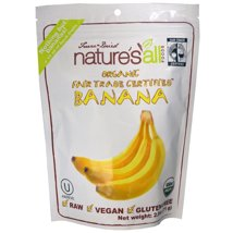 Dried Fruit & Raisins: Natierra Organic Banana