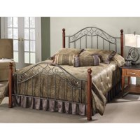 Hillsdale Furniture Martino Bed with Bedframe, Multiple Sizes