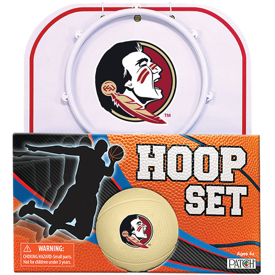 Officially Licensed NCAA Florida State Hoop Set