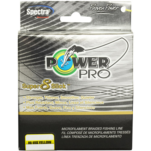 Power Pro Super 8 Slick Braided Fishing Line, 150 yds