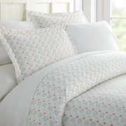 Simply Soft 3 Piece Lights in Blue Pattern Duvet Cover Set