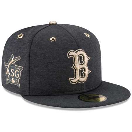 Boston Red Sox New Era 2017 MLB All-Star Game Side Patch Low Profile 59FIFTY Fitted Hat - Heathered Navy (Era Toy)