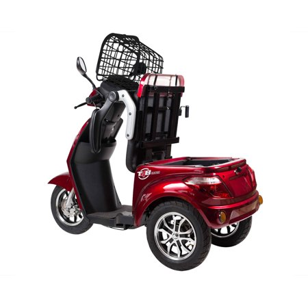 T4B LU-500W Mobility Electric Recreational Outdoors Scooter 48V20AH with Three Speeds, 14/22/32kmph - Red - image 12 de 14