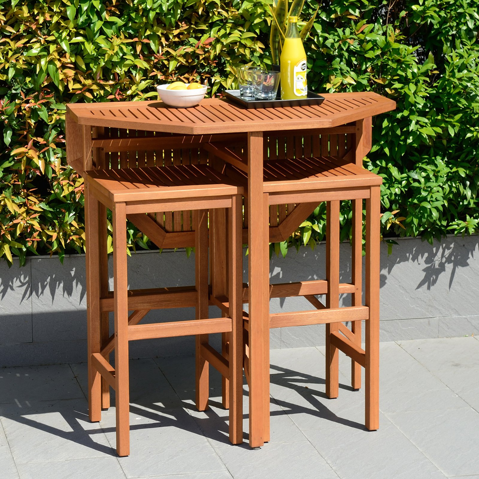 Southern Enterprises Trinidad Outdoor Patio Dining Table