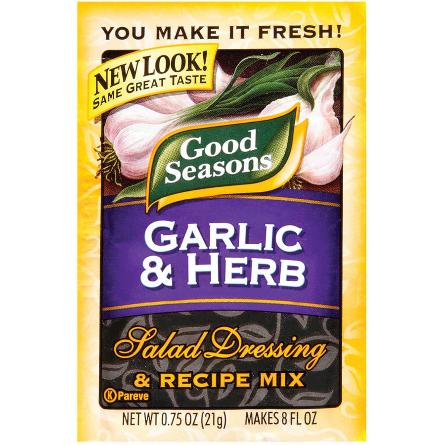 Kraft: Good Seasons Garlic & Herb Salad Dressing & Recipe Mix, .75 Oz