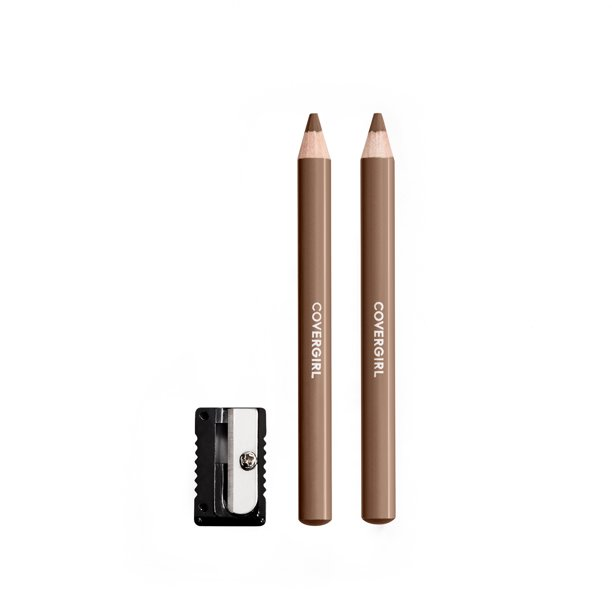 COVERGIRL Easy Breezy Fill + Define Eyebrow Pencil, Honey Brown