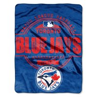 "Toronto Blue Jays The Northwest Company 46"" x 60"" Structure Micro Raschel Plush Blanket"
