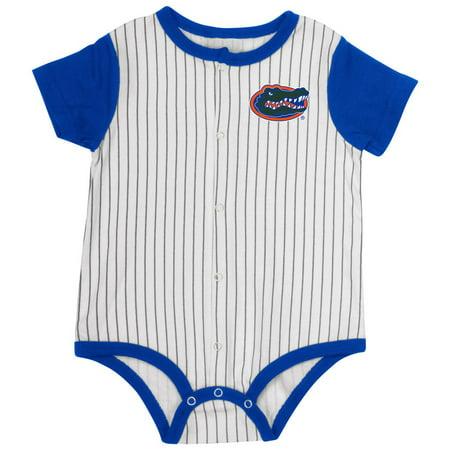 University of Florida Gators Baby Clothes Infant Baseball Bodysuit - Florida Gators Onesie