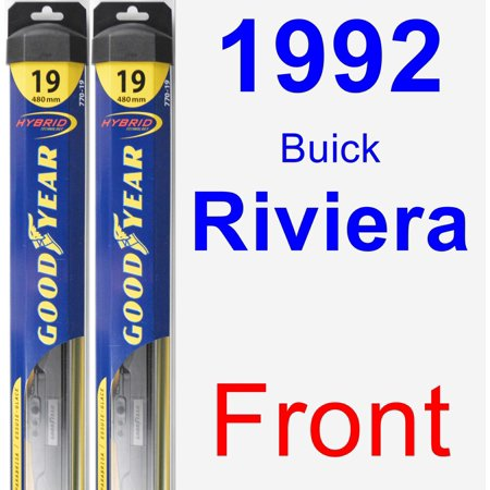 - 1992 Buick Riviera Wiper Blade Set/Kit (Front) (2 Blades) - Hybrid