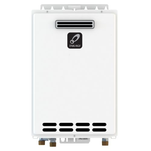 TAKAGI T-KJr2-OS-NG 6.6 GPM Natural Gas Outdoor Tankless ...