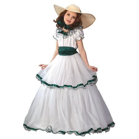 Southern Belle Child Halloween Costume - Cheap Belle Costume