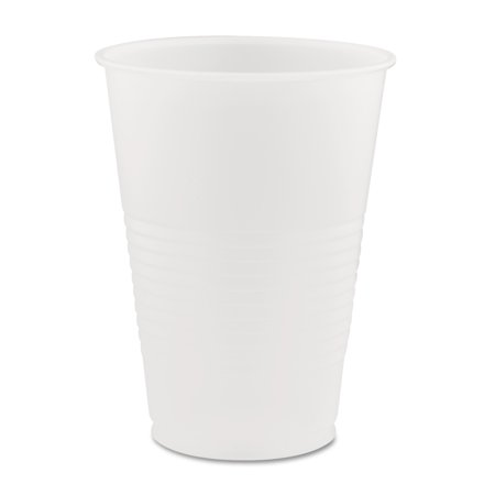 Dart Conex Translucent 14 Oz Plastic Cold Cups, 1,000 Cups (20 bags of 50 cups each)
