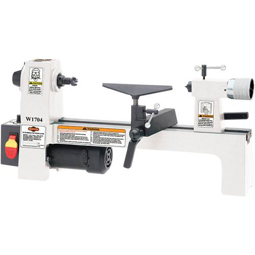 "Shop Fox W1704 8X13"" Bench-Top Wood Lathe w  Infinitely Variable Speed Control by SHOP FOX"