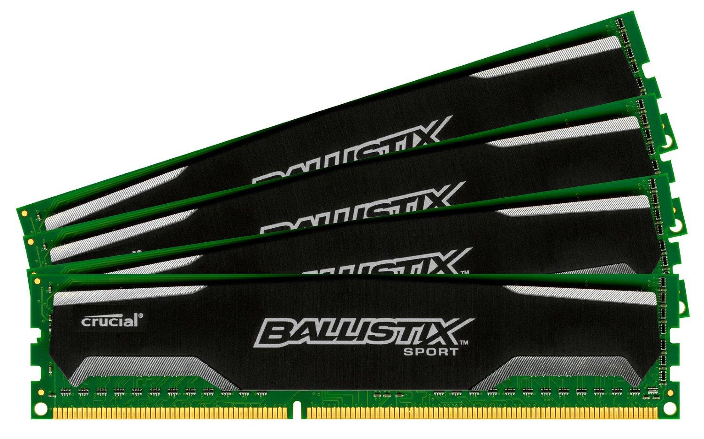 Crucial Ballistix 32 GB DDR3 SDRAM Memory Module