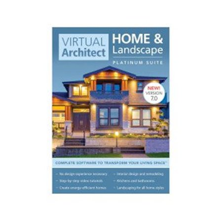 Virtual Matrix Software - Virtual Architect Home/Lscape Plat 7 (Email Delivery)