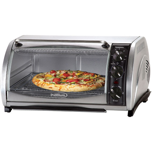 Premium Toaster Oven Broiler , Stainless Steel