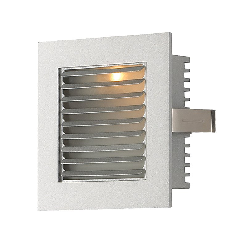 Alico Steplight LED Step Light in Gray