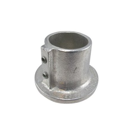 1 Speed Rail Round Flange Fits Pipe O D 1 3 8