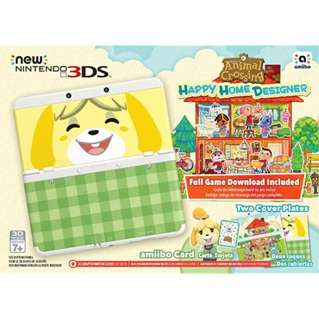nintendo animal crossing happy home designer new 3ds bundle