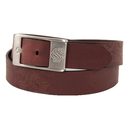 South Carolina Leather (South Carolina Gamecocks Brandish Leather Belt -)