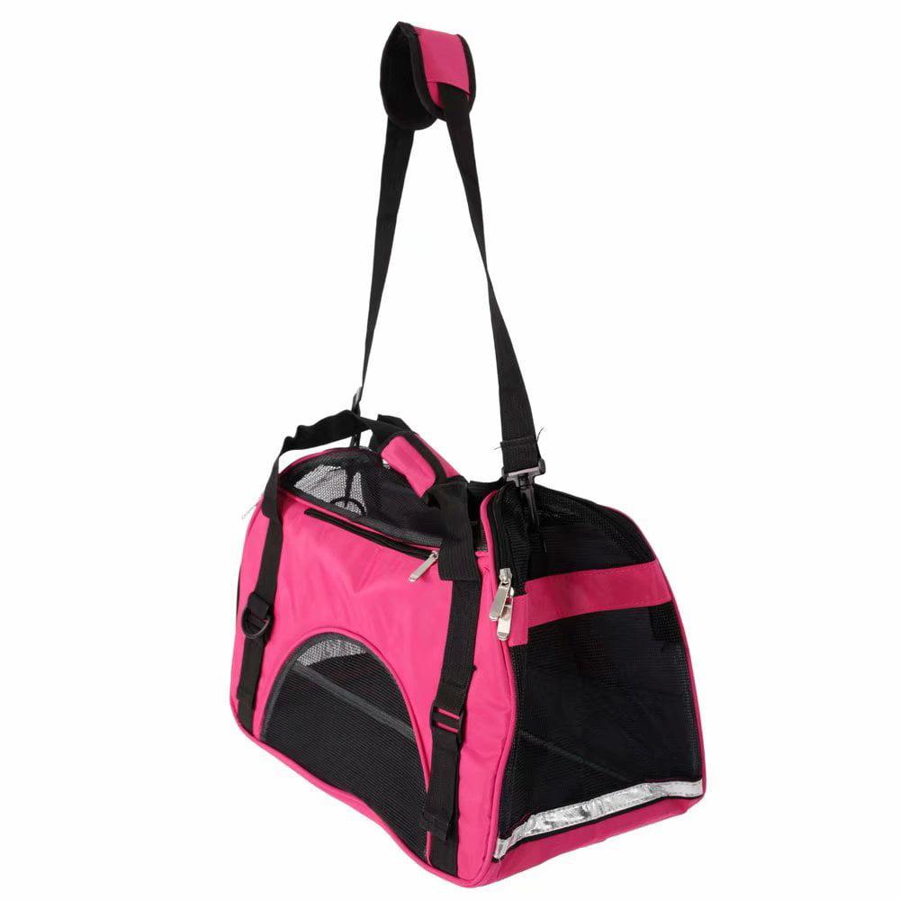 Akoyovwerve Portable Breathable Pet Pouch Handbag, Dog Cat Puppy Outdoor Carrier Sling Hands-Free Shoulder Travel Bag Tote Handbag Carrier