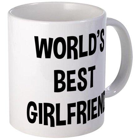 CafePress - World's Best Girlfriend - Unique Coffee Mug, Coffee Cup (World's Best Girlfriend Mug)
