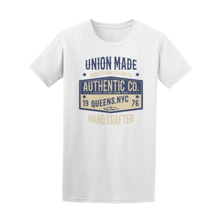 Authentic Mate - Union Made Authentic Co Nyc Tee Men's -Image by Shutterstock