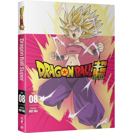 Dragon Ball Super: Part Eight (DVD) (Dragon Ball Super Funimation English Dub Release Date)