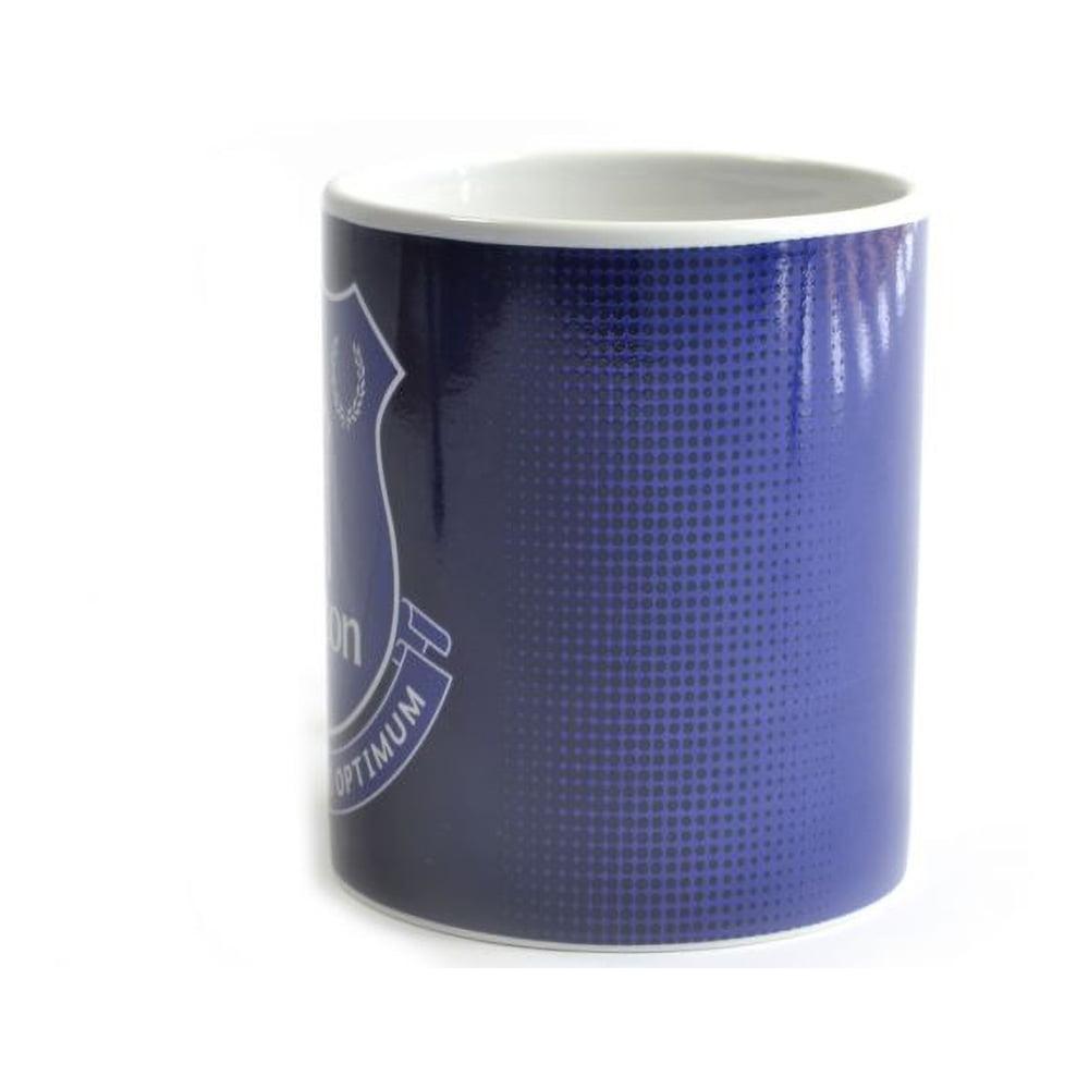 FC Everton Tasse Halftone mit Club Wappen