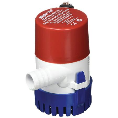 Rule 25SA Electronic Sensing Bilge Pump - 500 GPH 500 Gph Cartridge Bilge Pump