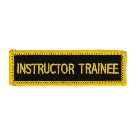 Instructor Trainee Patch