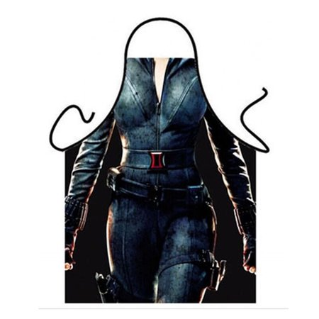 Marvel Black Widow Apron Sexy Woman Lady Superhero Kitchen Party Funny