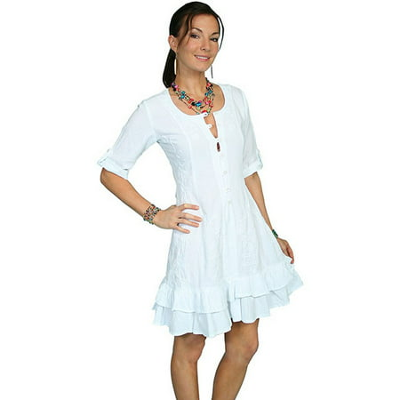 4ce814dc Scully - Scully Western Dress Womens Cantina Short Sleeve Button PSL-080 -  Walmart.com
